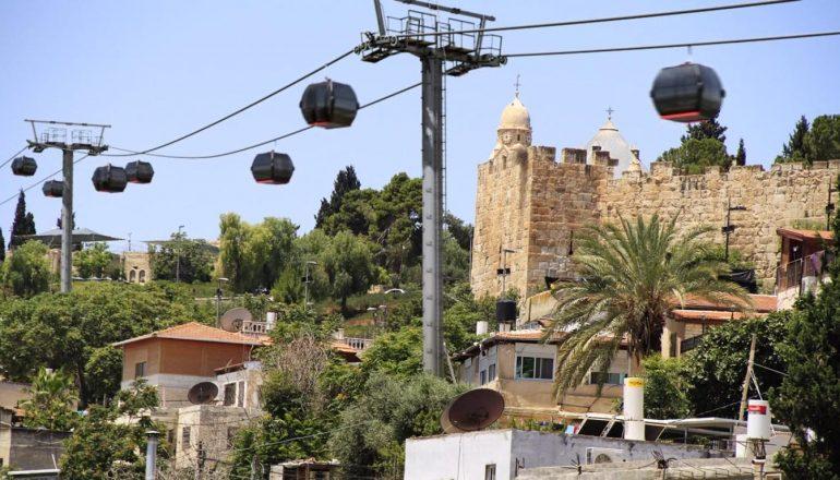 هل قطار السلال هو وسيلة مواصلات تحتاجها القدس؟