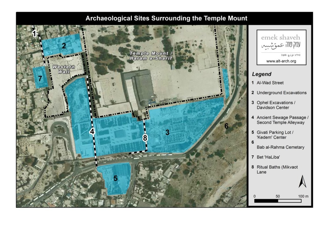 Excavations around Temple Mount-Haram a-Sharif (Copy)