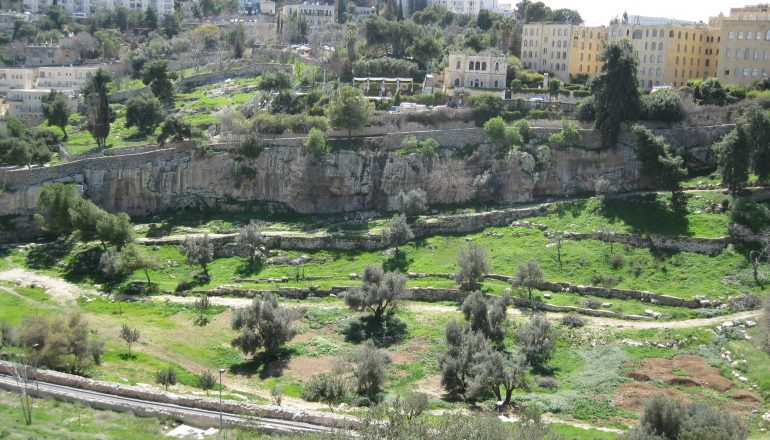The Jerusalem Cable Car Project and its potential impact on the Historic Basin
