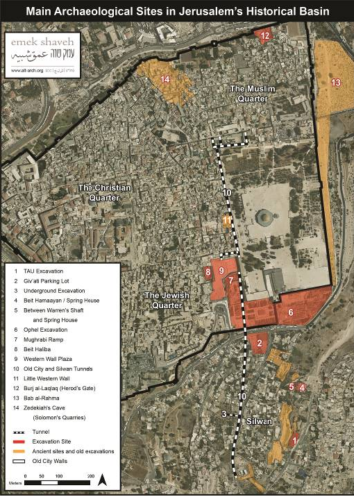 Update kedem center in silwan and davidson center at the foot of jerusalem map 2015 for web eng gumiabroncs Image collections