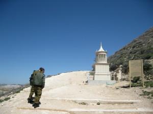 דגם קבר הורדוס בכניסה להרודיון